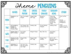 Tot School Tuesday: PENGUIN plans for your toddler or preschooler {from Mrs. Plemons' Kindergarten}