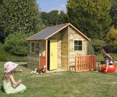 Kinderspielhaus TOM Kinderhaus Gartenhaus Gartenhäuser Spielhaus Stelzenhaus für Kinder: Amazon.de: Baumarkt