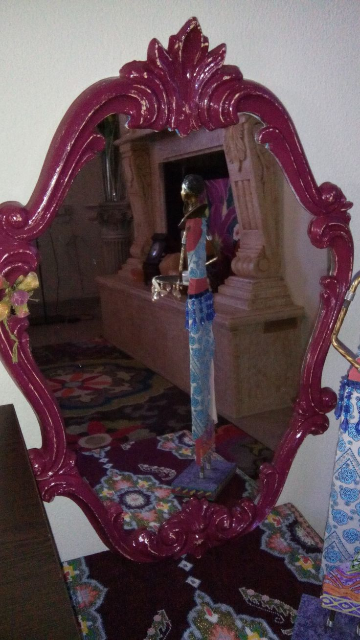 handmade vintage mirror