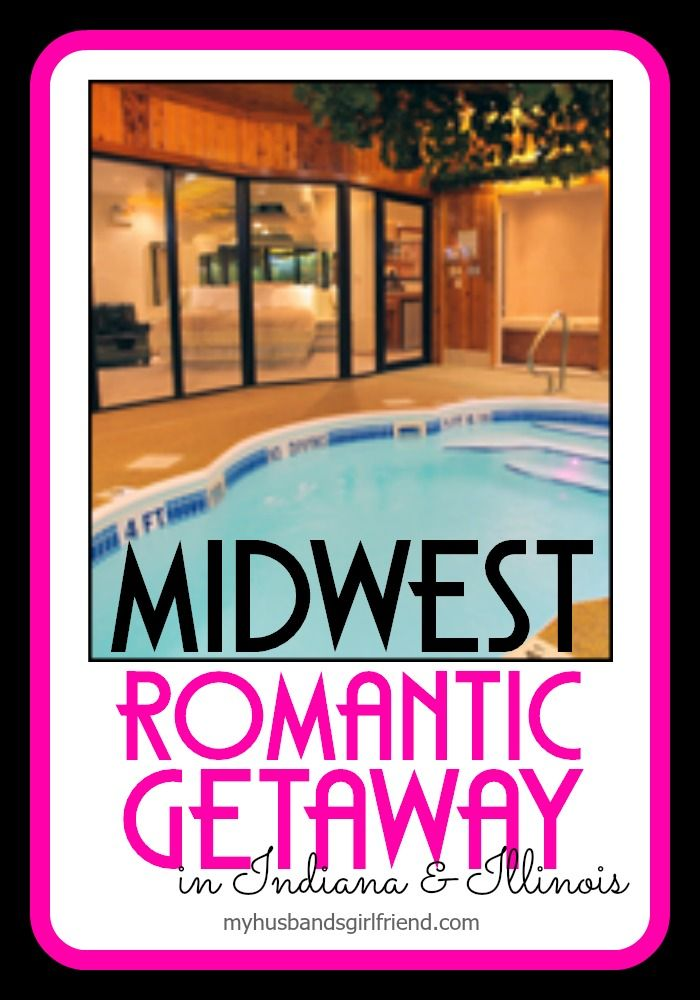 Swimming Pool, Tropical Waterfall, Soothing Whirlpool Tub, Misting Steamroom, Cozy Fireplace, Massage Chair in YOUR PRIVATE ROOM! Skinny Dip the weekend away with your hubby! #MHG
