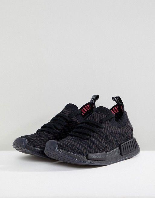 27bafe2dd4695 adidas Originals NMD R1 Sneakers in All Black in 2019