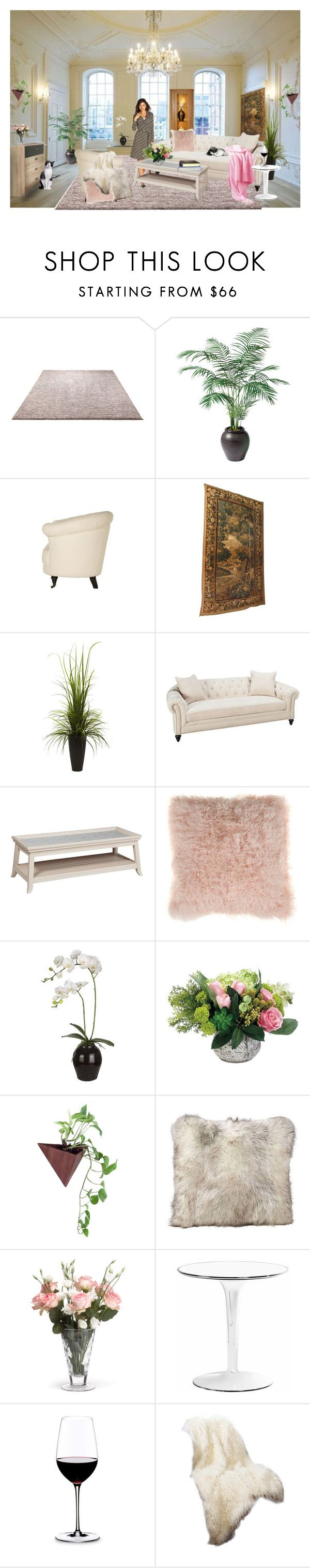 """Home"" by marianne-spiessens on Polyvore featuring interior, interiors, interior design, home, home decor, interior decorating, ESPRIT, Ethan Allen, Jayson Home and Nearly Natural"