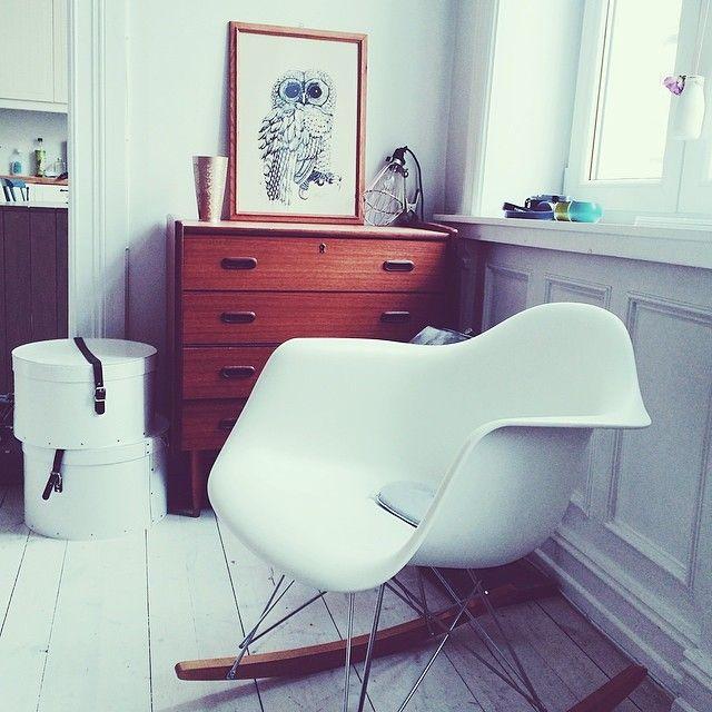 Der Eames RAR Stuhl Verbindet Gemütlichkeit Mit Stil   Ein Stuhl Viele  Möglichkeiten.
