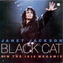 45cat - Janet Jackson - Black Cat / The 1814 Megamix (Edit) - A&M - UK - AM 587