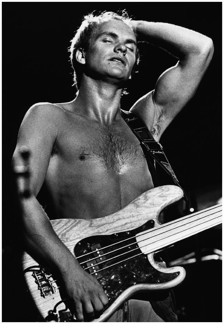Sting, The Police Concert, 1979