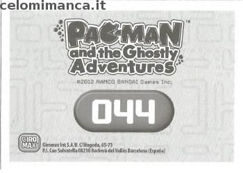 Pac-Man and the Ghostly Adventures: Retro Figurina n. 044 -