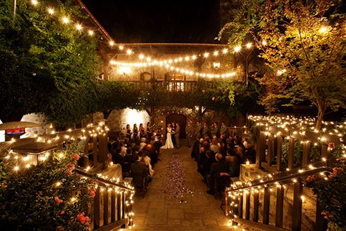 How to Stay Warm, or Cool, at a Quirky Indoor/Outdoor Wedding