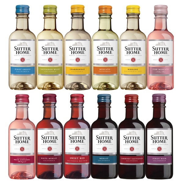 Sutter Home Mini Bottles 187ml Are The Perfect Addition