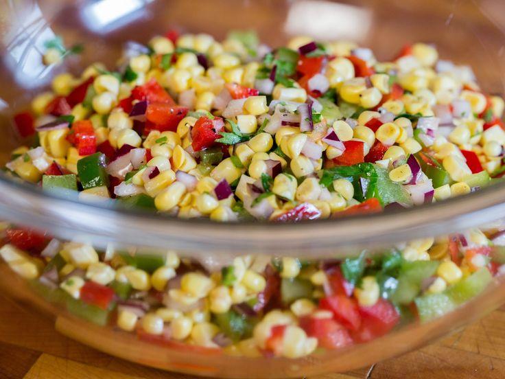 Summer Corn Salad recipe via Food Network