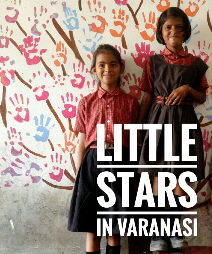 """The Little Stars School  school in Varanasi offers a free education to over 900 children from poor families in Nagwa, a depressed neighborhood in East of Varanasi near Assi Ghat.img_0124Asha Pandey, the school director and founder, trying to """"snatch"""" the kids from illiteracy and child labor by offering free schooling since 1996."""
