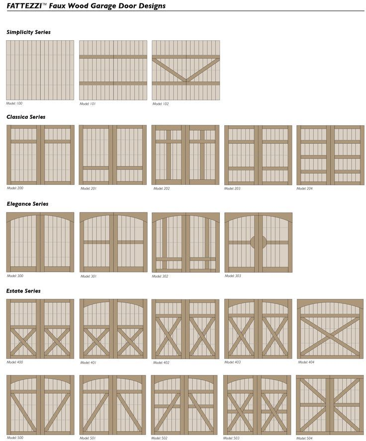 houses with foux wood garage doors | Ackue Fatezzi carriage house style composite faux wood garage doors ...