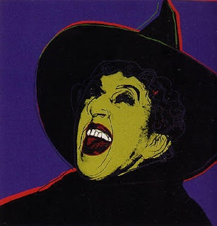 Wizard of Oz Wicked Witch pop art by Andy Warhol