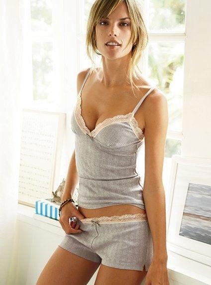 Victoria'S Secret Pointelle Cami Short Set