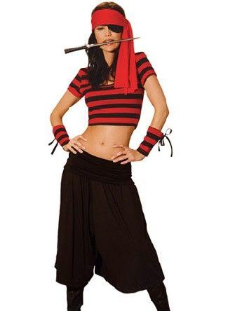 Pirate de maîtresse Deguisement Pirates