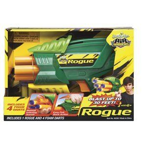 Buzz Bee Toys Air Warriors Rogue with Foam Darts by Buzz Bee Toys. $11.99. Rogue Gun with Foam Darts