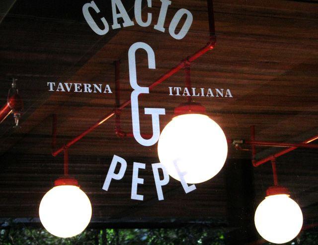 Cacio & Pepe. Logo. 2013