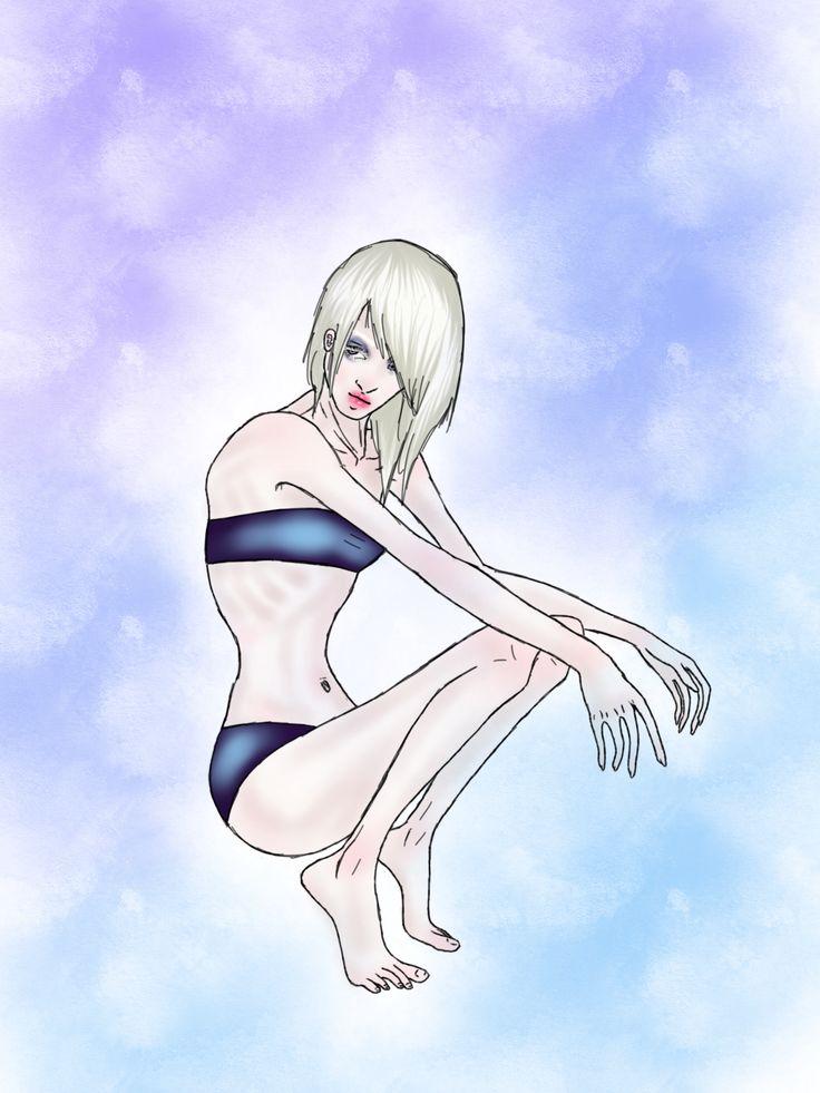 albino girl my favorite ❤️
