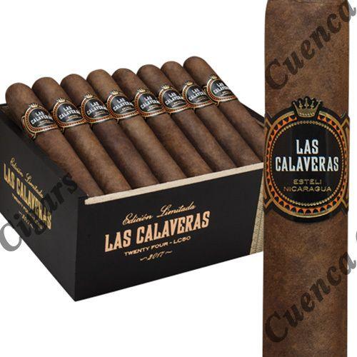 Las Calaveras Edición Limitada 2017 LC50 Robusto Cigars - Dark Natural Box of 24