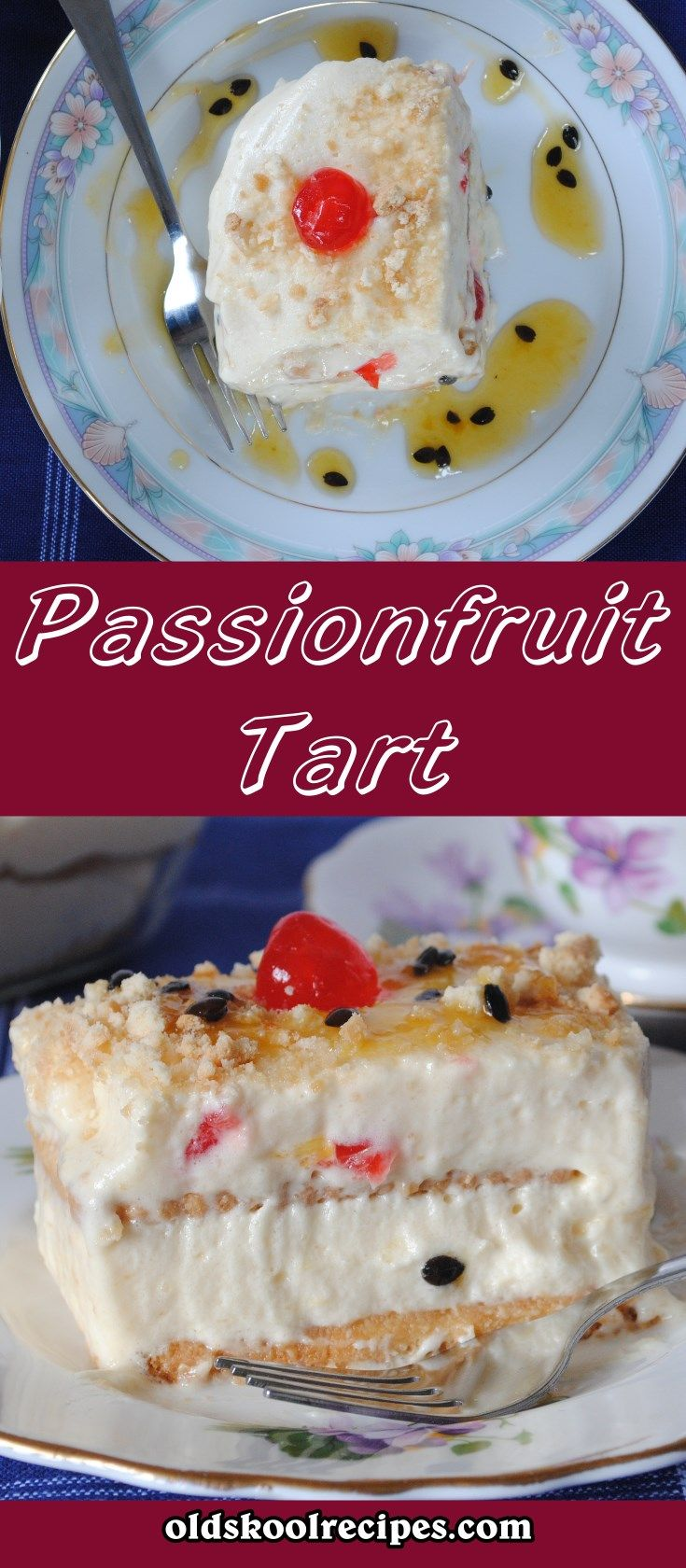 Passionfruit Tart Recipe  This Passionfruit Tart is filled with ripe passionfruit seeds and showcases a  its sweet-spicy flavor.  The passionfruit  tart is delicious quick, easy dessert that requires no baking.