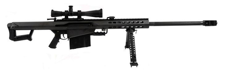 M107 Barrett 50 Caliber Sniper Rifle