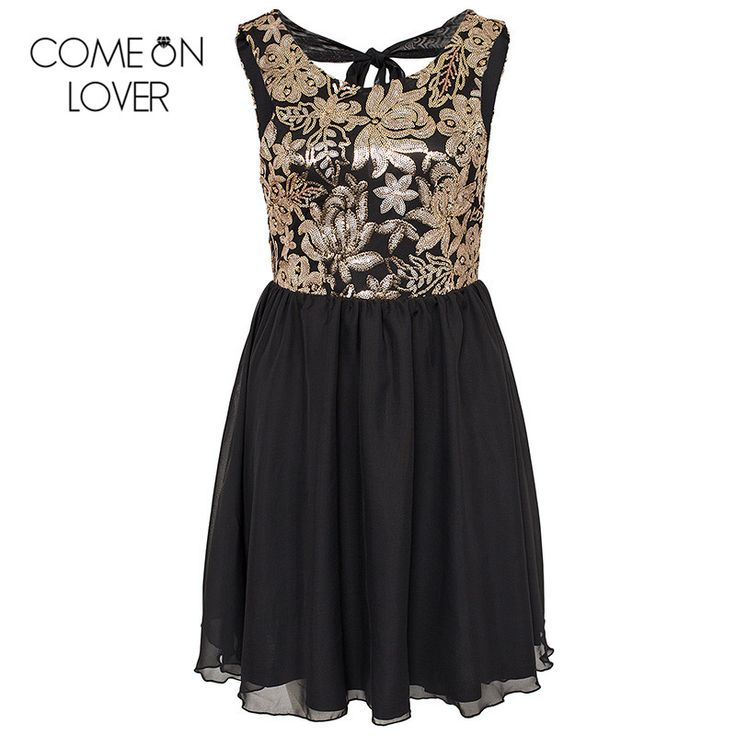 ==> [Free Shipping] Buy Best RE70198 Comeonlover Off shoulder backless printed vestidos mujer plus size black mini dress summer style women skater dress Online with LOWEST Price | 32793495729