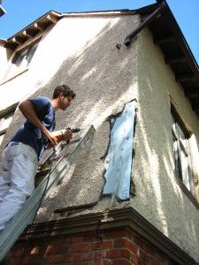 how to repair stucco