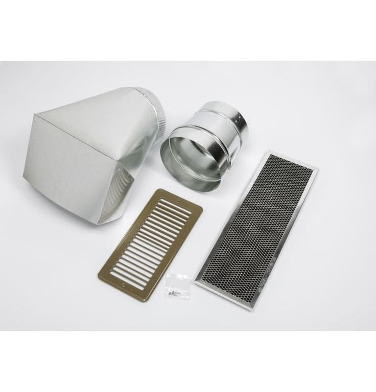GE JXN30 Ductless Conversion Kit For Recirculating Range Hoods Stainless Steel Accessory Ductless Conversion Kit