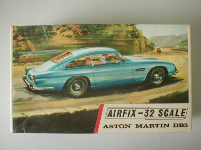 Check out this original 1960s Airfix 1.32 Aston Martin DB5 kit still in original box! We say, 'Wow!'