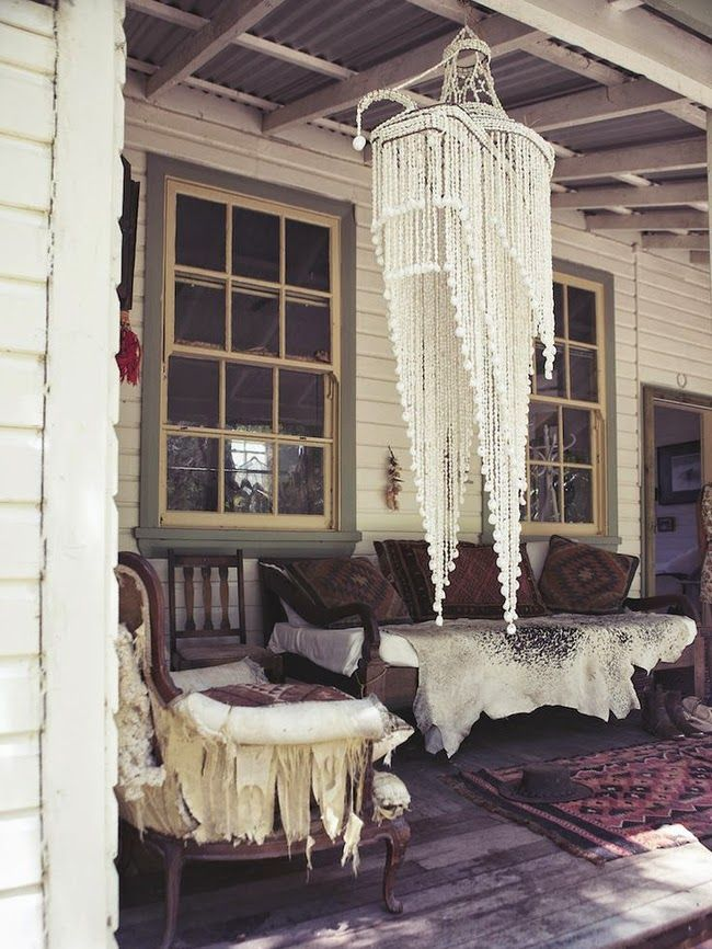 Sea Shell chandelierShell Chandelier Last week I won an instagram competition (held by...