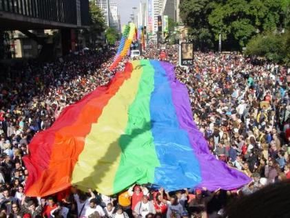 There are few things in this world that make me more proud than carrying the huge pride flag at the end of a pride parade, and I'm straight.