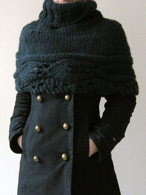 This caplet is amazing.  Not sure how it will look with my busty bust, but I'll find out...