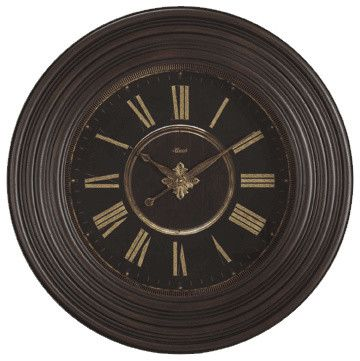Hermle Darby 36 inch Gallery Wall Clock - transitional - Clocks - Expressions of Time, LLC
