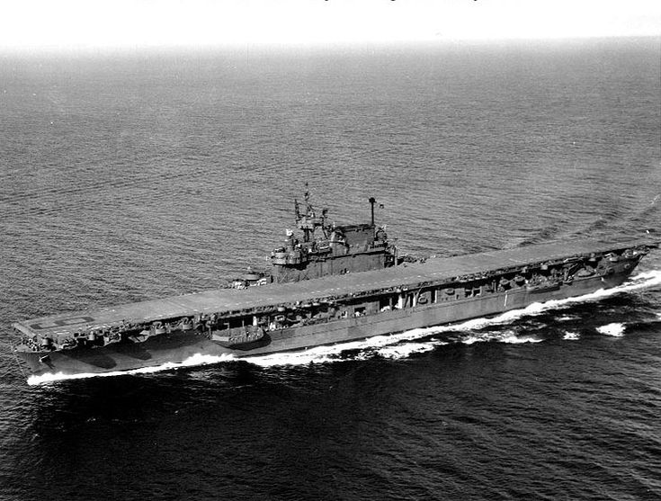USS Enterprise was launched in 1936, and one of only three American carriers commissioned prior to World War II to survive the war (the others being Saratoga and Ranger). She participated in more major actions of the war against Japan than did any other US ship and earned 20 battle stars.