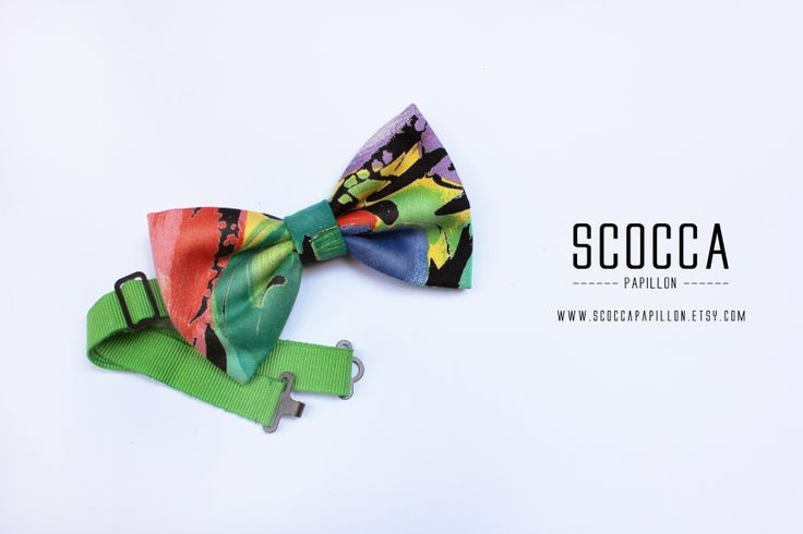 SCOCCA PAPILLON COLORFUL - SUMMER COLLECTION 2014. www.scoccapapillon.etsy.com - #boys #bowtie #bowties #fluo #colors #colorful #madeinitaly #madeinsicily #men #mens #wedding #summer