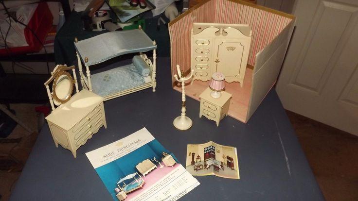 Vintage 1965's Serie Principessa Bedroom Suite