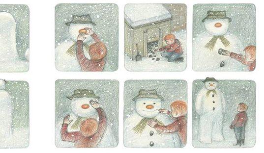 the snowman raymond briggs - Google Search