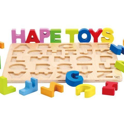 Puzzle Alfabet duże litery HAPE