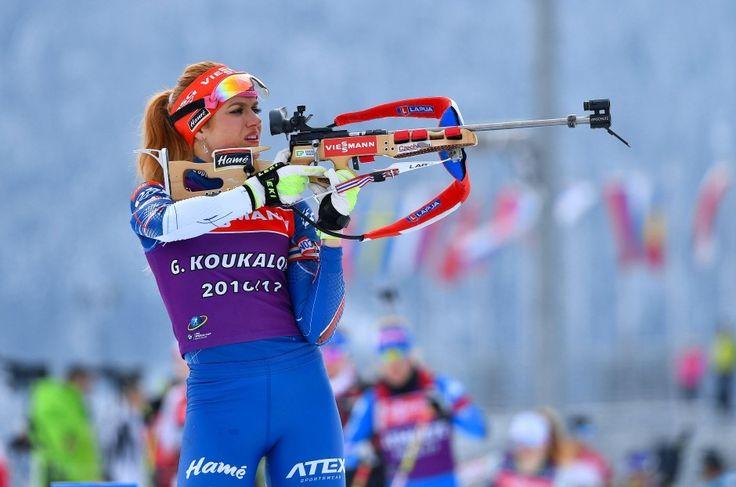 Bilderstrecke zu: Biathlon-WM Laura Dahlmeier gewinnt Silber im Sprint - Gabriela Koukalova holt Gold - Bild 2 von 2 - FAZ