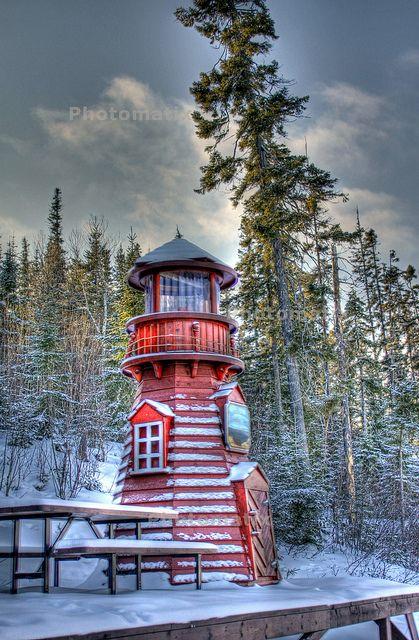 ✯ Quebec, Canada Le phare de Lebel-sur-Quévillon