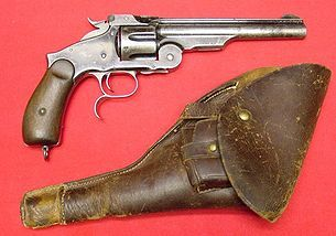 Smith & Wesson Model No. 3 Russian.  Gorgeous.