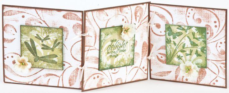 Stamp-it Australia: siset031 & 35 Dragonflies - Card by Maria