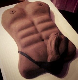 EXOTIC ADULT CAKE- rily bachelorette