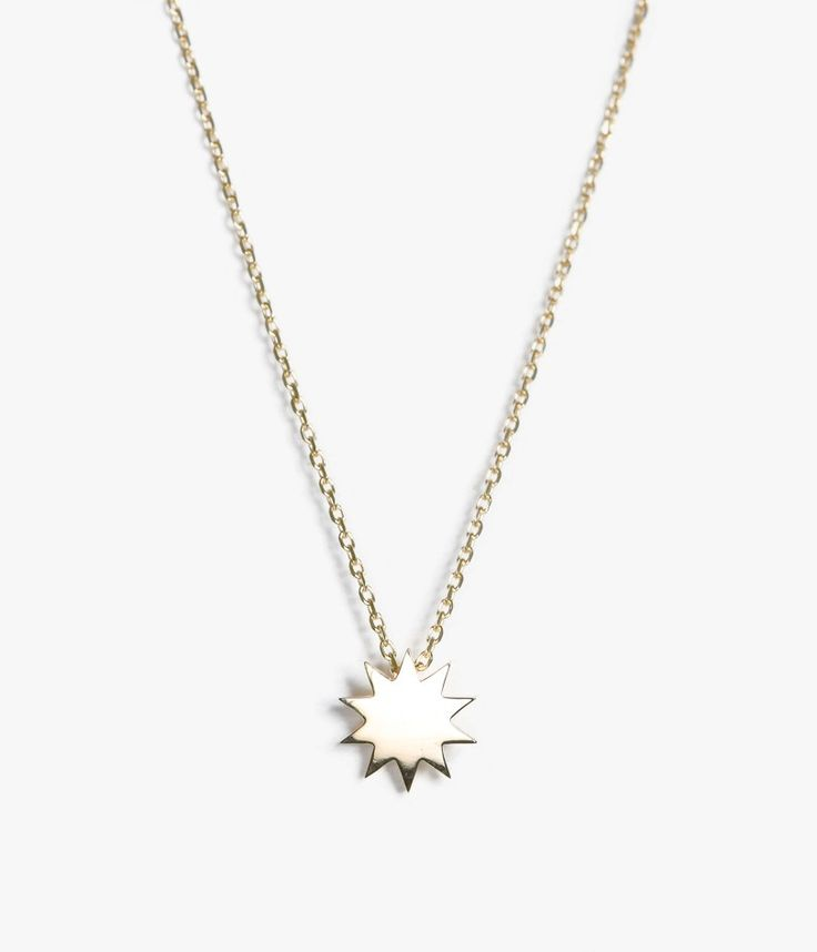 Single Starburst Necklace by Carmen Diaz for Sale at Azalea
