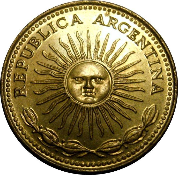 moedas antigas - Argentina