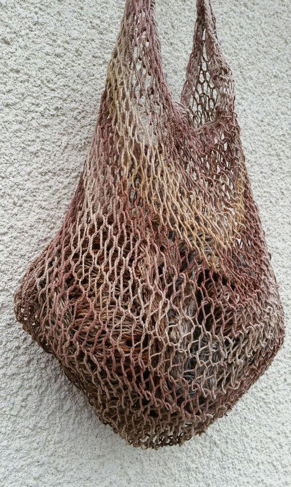 Small Bilum Bag Noken Bag Papua New Guinea Bag by KavanaEmporium