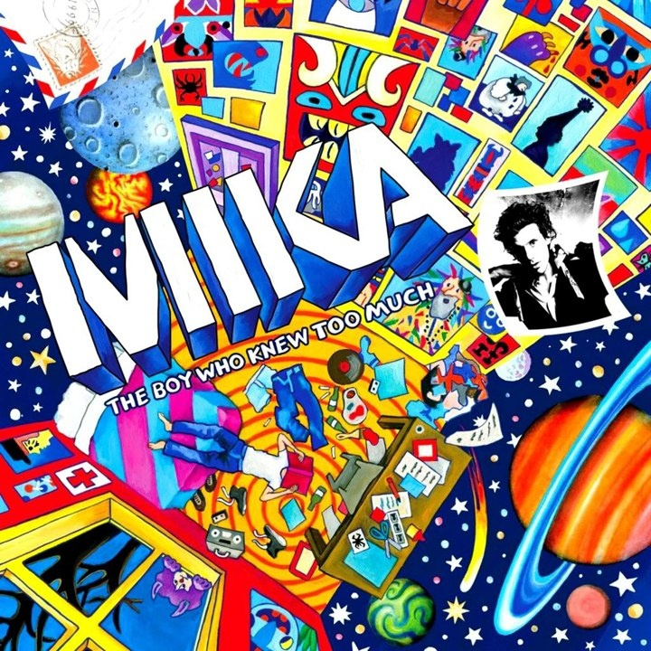Mika The Boy Who Knew Too Much cover art
