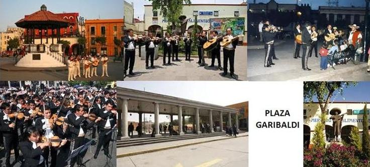 La Plaza Garibaldi.  Es famosa por los grupos de mariachis,grupos norteños,trios romanticos y grupos de musica veracruzana que ahí se reúnen, vestidos con su atuendo típico y equipados con sus instrumentos musicales. Por muchos años ha sido el lugar de elección para conseguir a un mariachi.