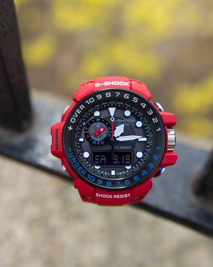 G-Shock Master Of G Rescue Red 2016-2
