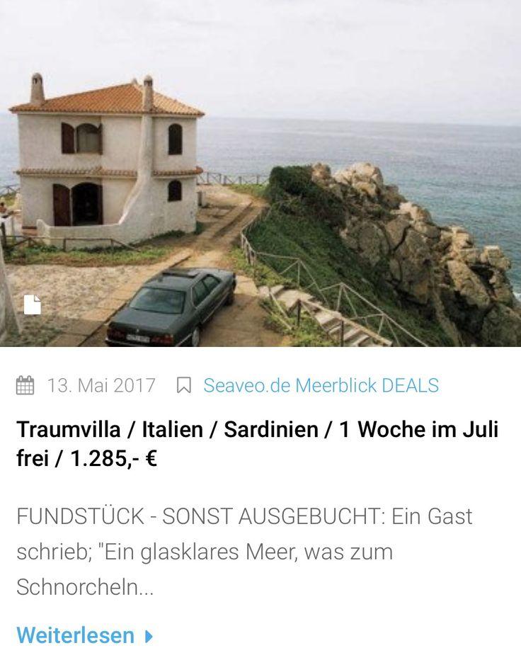 MEERBLICK FUNDSTÜCK: 1 Woche im Meerblick in einer Villa auf Sardinien im Juli! Dann erst wieder ab September frei!  Wir kennen das Haus, bei Fragen einfach fragen ...  #meerblick #meer #urlaubsreif #urlaub #italien #traumhaft #deals #italienurlaub #sardinien #italy #italy🇮🇹 #ferienvilla #aussicht #ferienhaus #hotel #italyphoto #ferien #kurzurlaub #lastminute #strand #sardinia #travelgram #landscape #beautifuldestinations #seaveo #nature #reisefieber #fernweh #reisefieber #ammeer