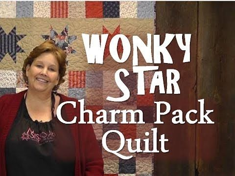 Wonky Star Charm Pack Quilt